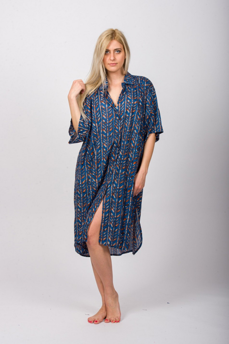 SHIRT DRESS - COTTON