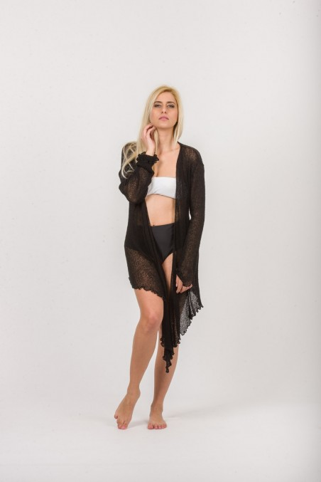 CARDIGAN KNITTED NET