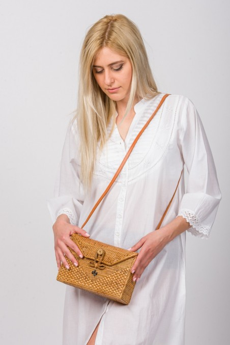 Handwoven Rattan Bag