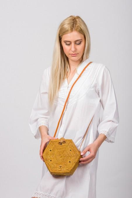 Handwoven Rattan Bag