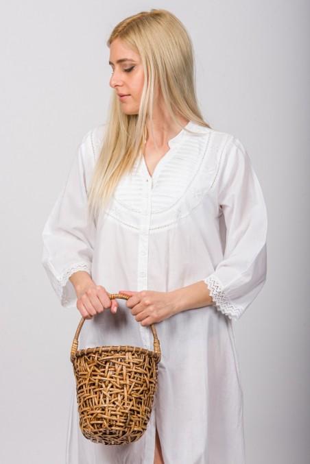 Handwoven Basket Rattan Bag
