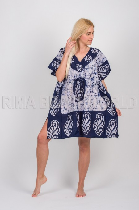 PONCHO COTTON BATIC WITH ADJUSTER